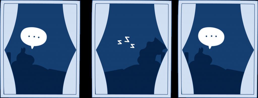 2 in 3 people experience sleep talking.